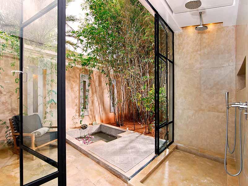best hotel bathrooms - pool villa bathroom Palais Namaskar
