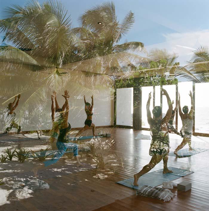 things to do in riviera maya - yoga at sanara