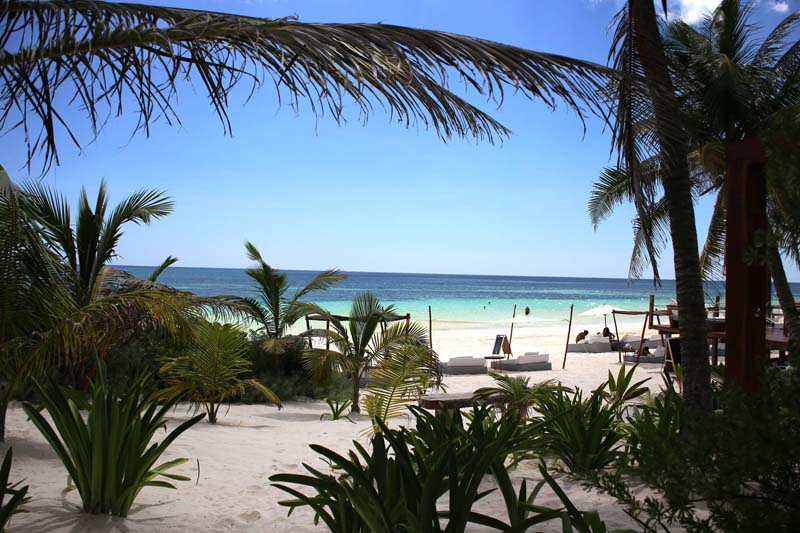 Next time we visit Tulum, we'll stay at Sanara, a new boutique hotel on the beach - photo Sanara