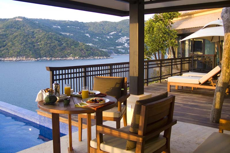 resorts with private pools - Banyan Tree Cabo Marques