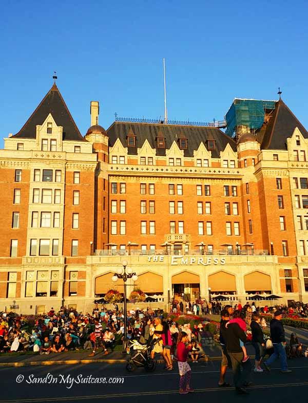 best city to visit in canada - victoria empress hotel