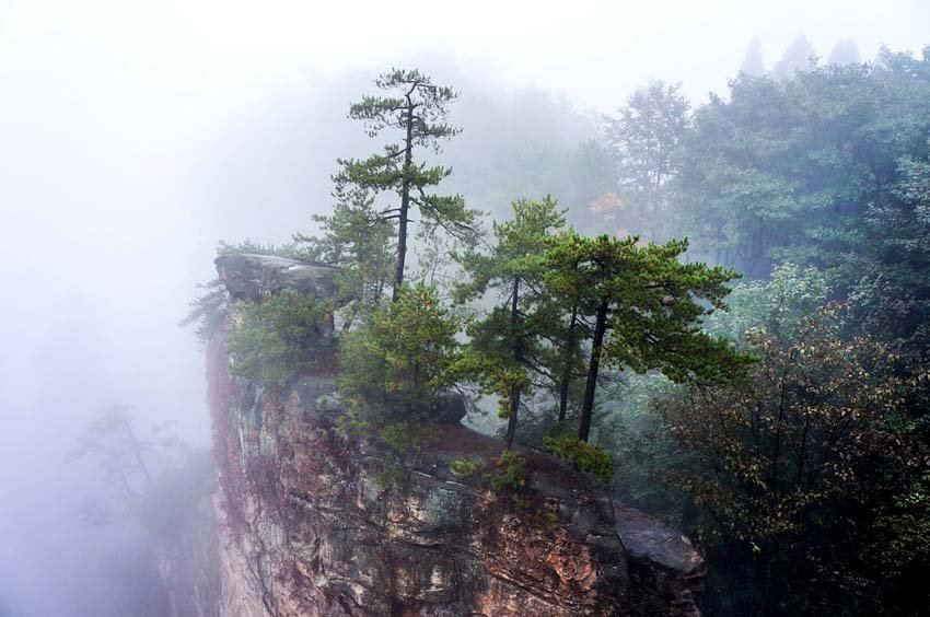 Avatar mountains, Zhangjiajie