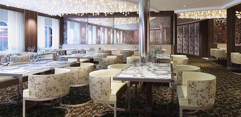 Book a suite, and you can dine in Luminae - photo Celebrity Cruises
