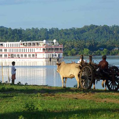 myanmar river cruise