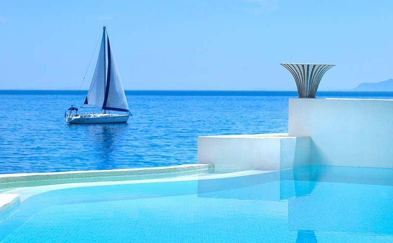resorts with private pools - St. Nicolas Bay