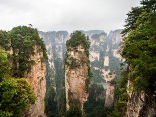Avatar Mountains, Zhangjiaje