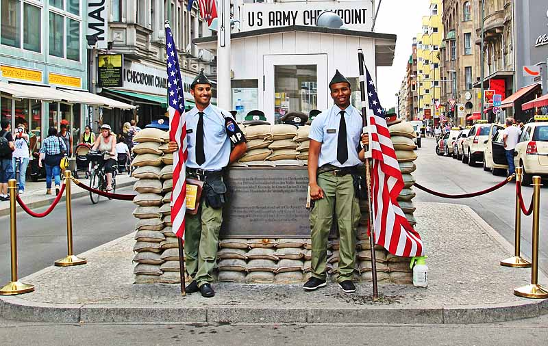 one day in berlin - checkpoint charlie