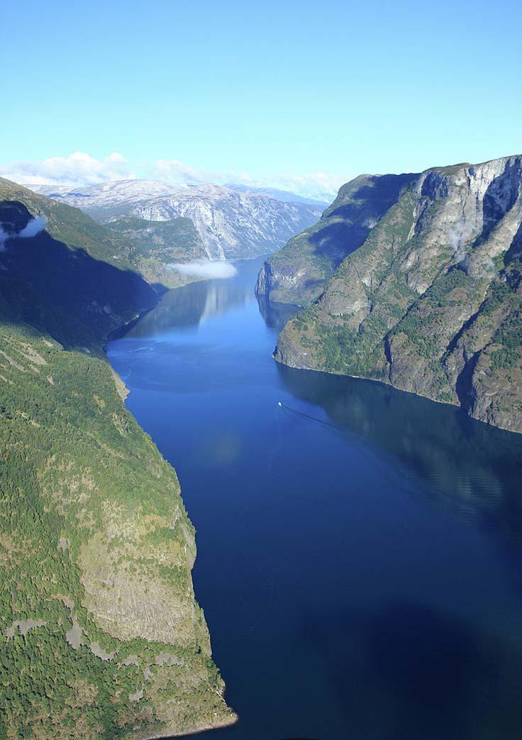 flam railway - fjord