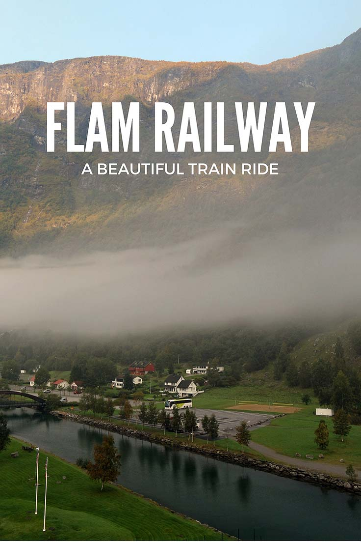 flam railway - train ride