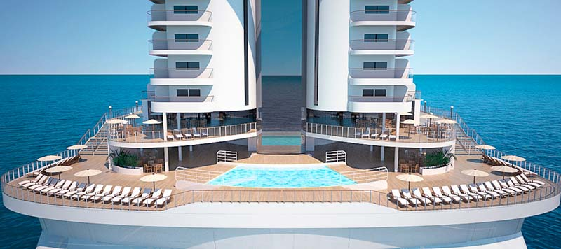 best new cruises in 2017 - msc seaside