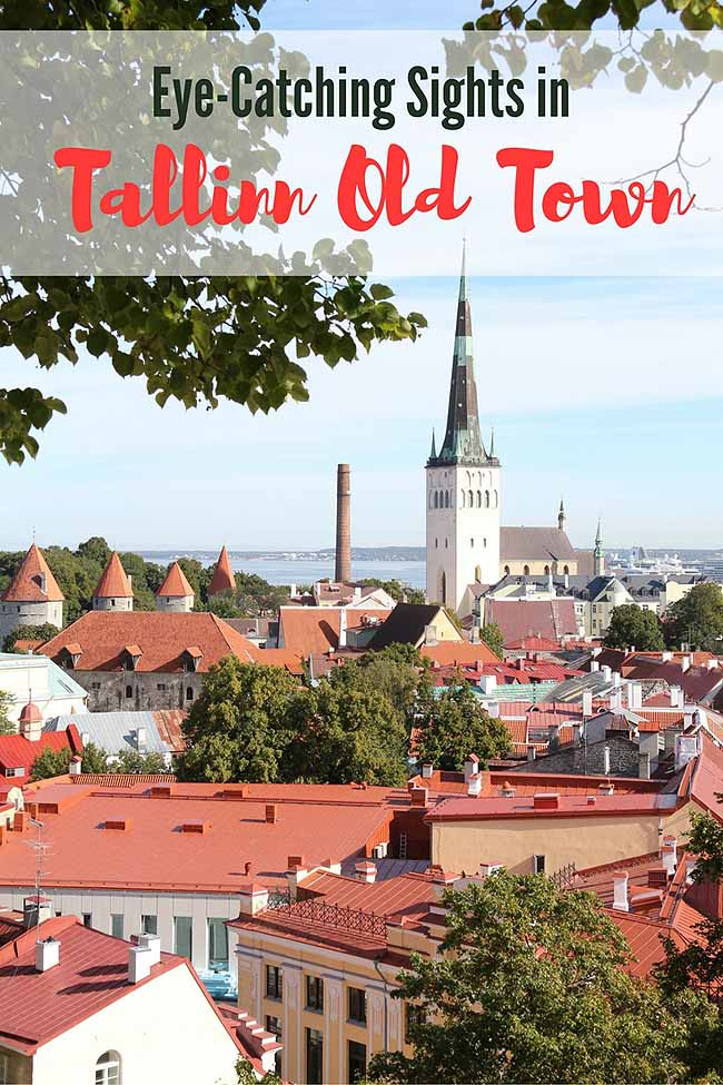 tallinn old town - eye-catching sights
