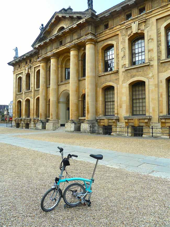 cruise tips - take your own folding bicycle