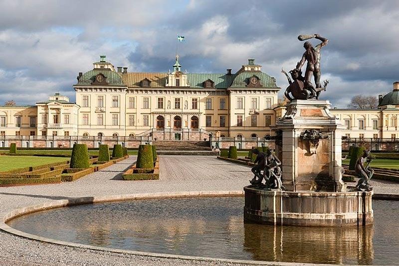 Viking Homelands cruise - Stockholm Drottningholm Palace