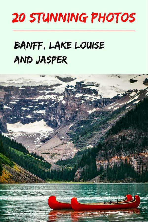 photos of banff, lake louise and jasper