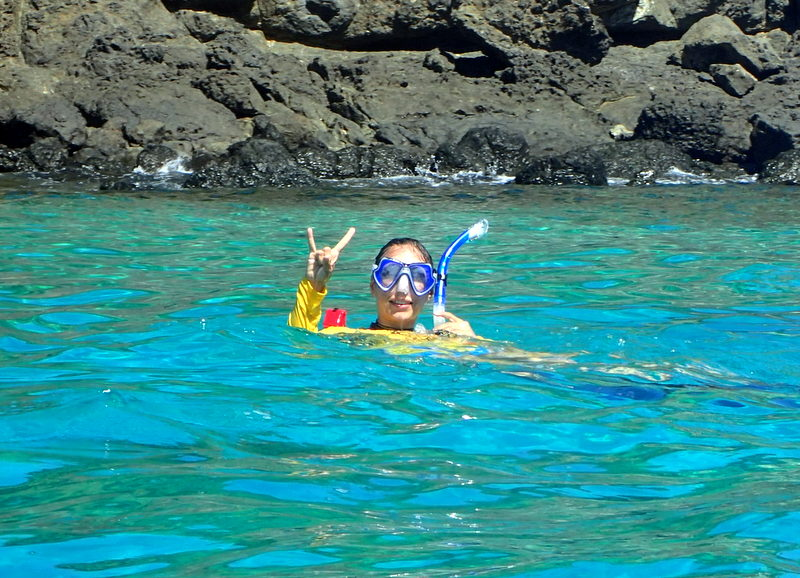 Snorkeling in Granito do Oro