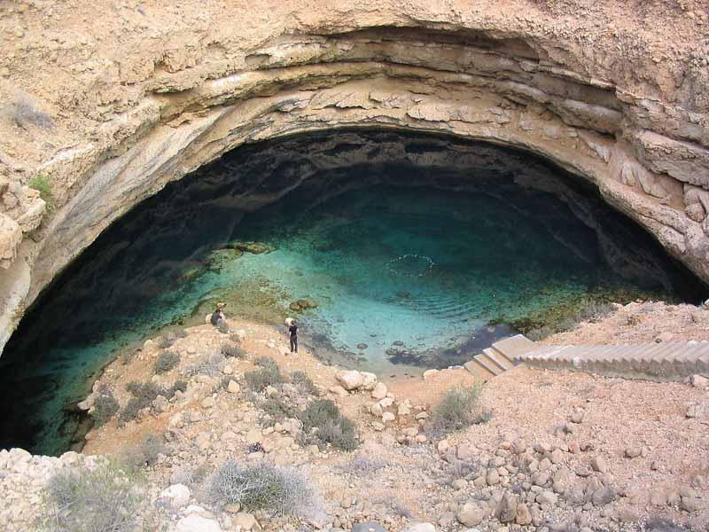 surprising places to swim