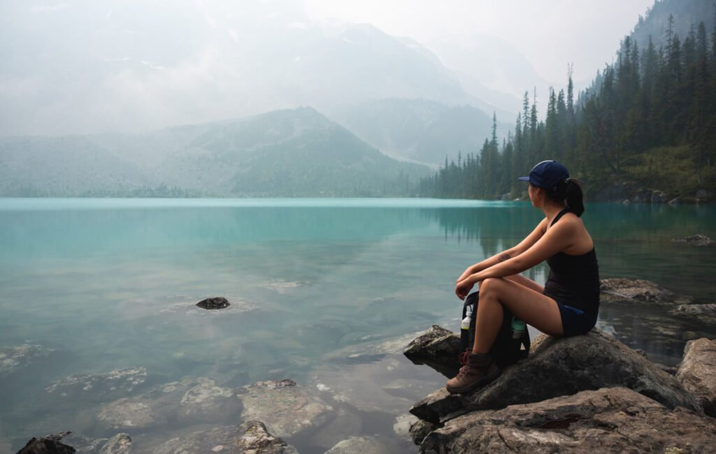 Hike Joffre Lakes in British Columbia
