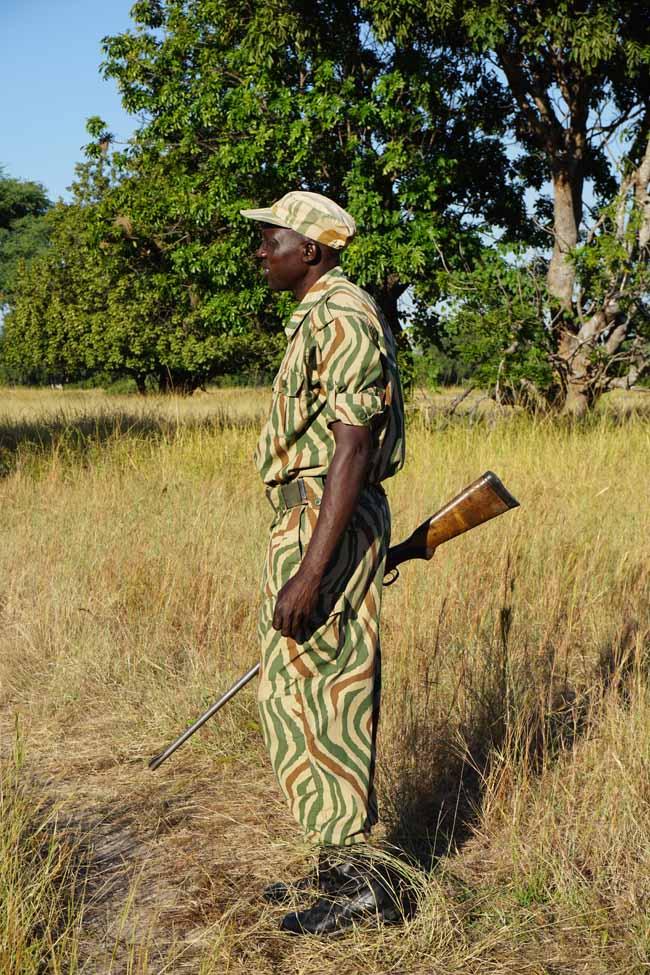 walking safari in Zambia