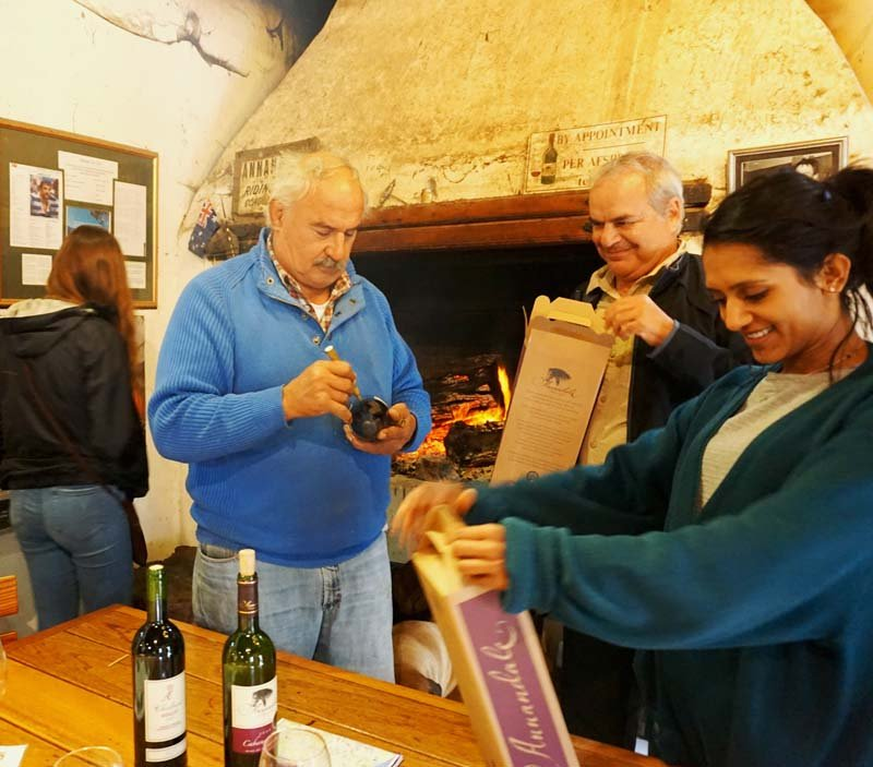 Wine tasting in Stellenbosch at Annandale