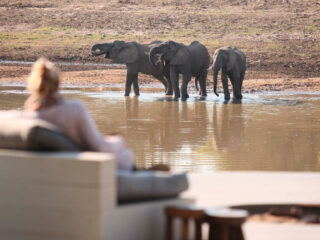 Chinzombo is one of the best safari camps in Africa