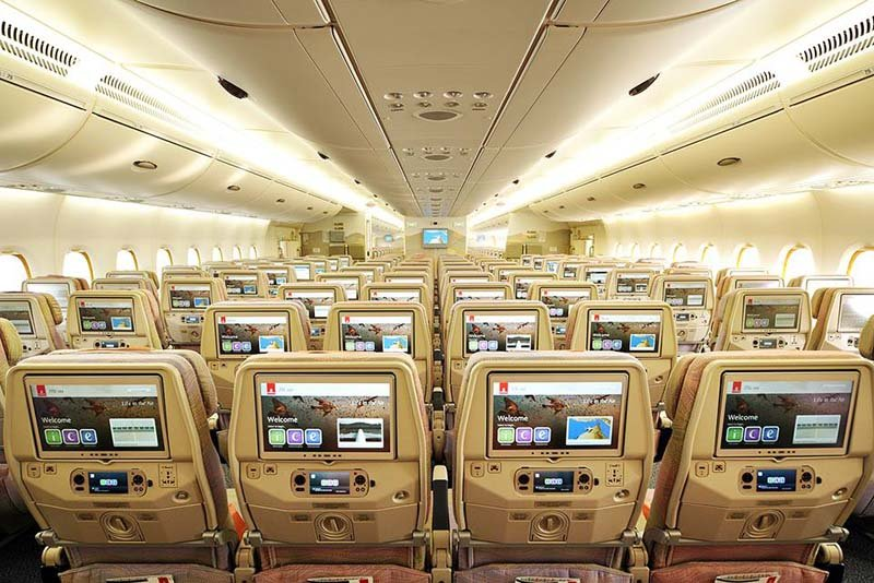 Review Of Emirates Airlines Economy Class Sand In My