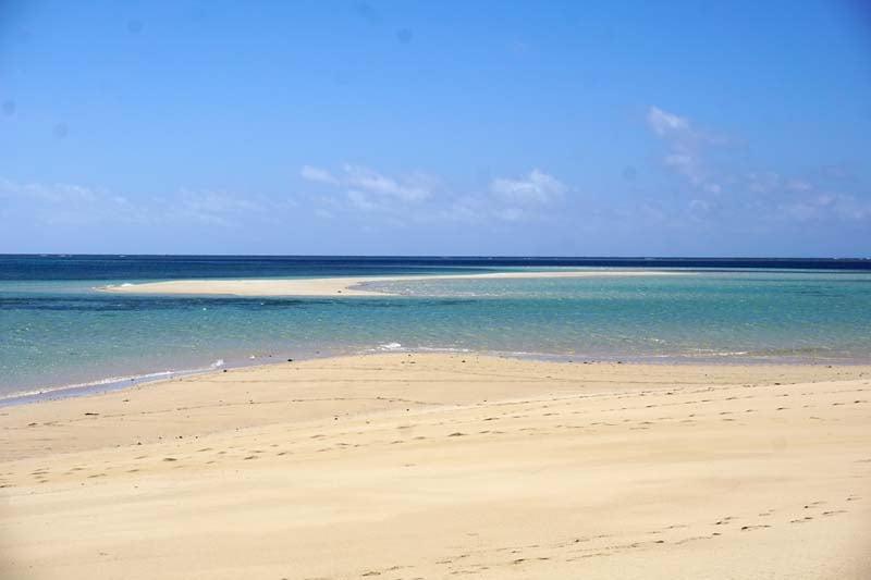 Ibo Island Lodge sandbank