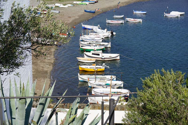 sea views from Dali's garden