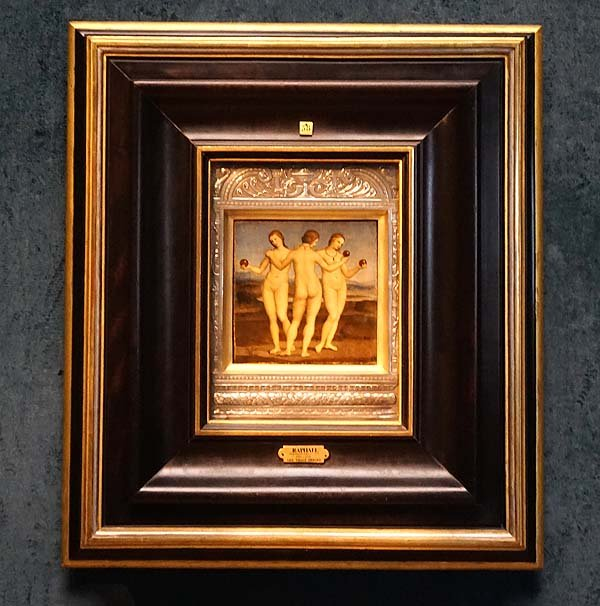 Chateau de Chantilly artworks Rafael Three Graces