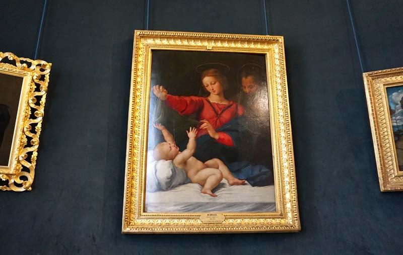 Chateau de Chantilly artworks
