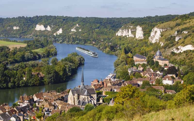 river cruise from Paris to Normandy
