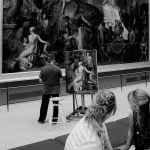 Snapshot Story #23: Louvre copyists learn by painting the masterpieces