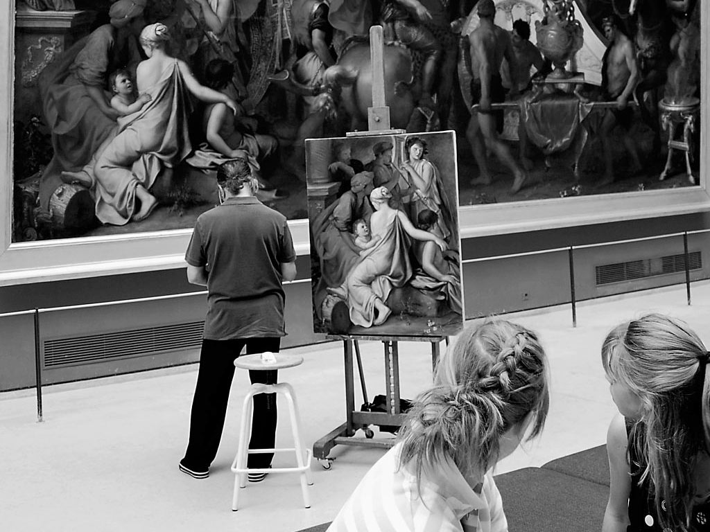 Louvre Copyists