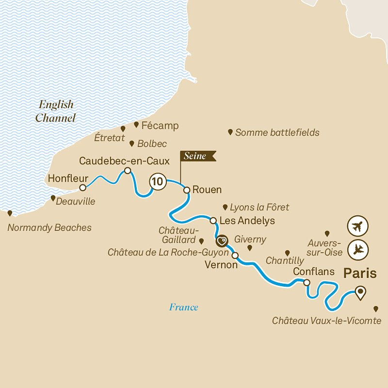 Review: Best River Cruise From Paris to Normandy | Sand In ... on rhône river, dnieper river map, river thames, po river, ganges river, tigris river map, paris map, english channel map, pont alexandre iii, mediterranean sea map, loire river, pont neuf, loire map, place de la concorde, thames river map, normandy map, elbe river map, shannon river map, garonne river map, bay of biscay map, danube map, english channel, ruhr river map, vistula river map, france map, tiber river map, palace of versailles, french riviera, oder river map, po river map, tagus river map, mississippi river,