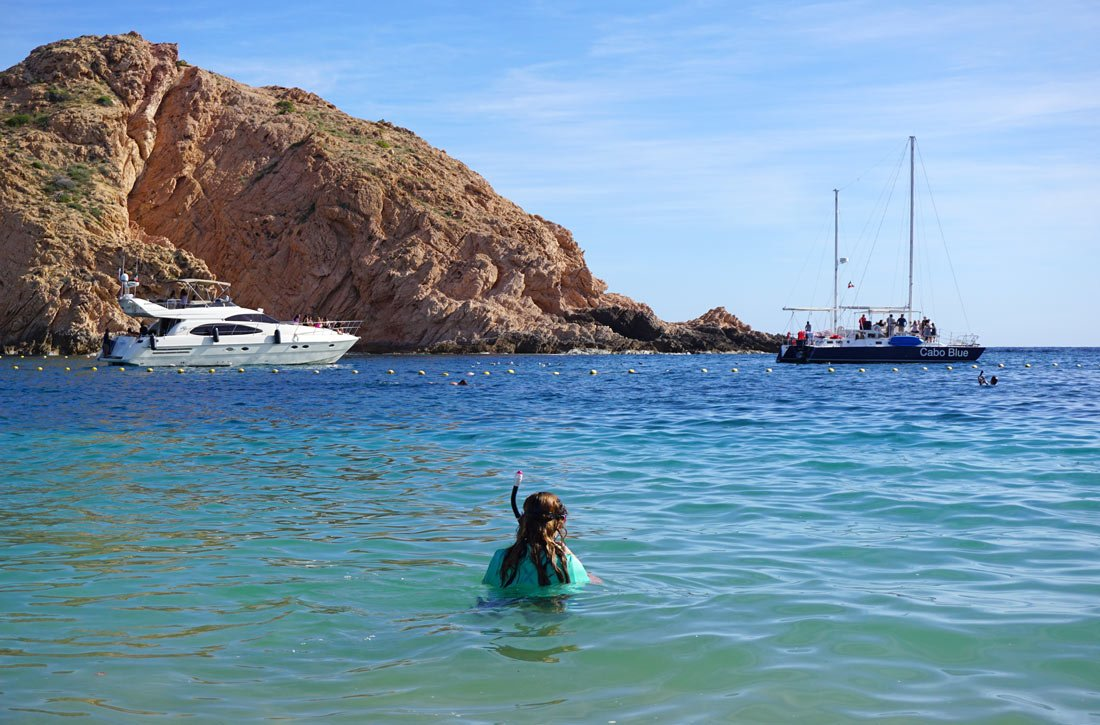 The snorkeling is awesome at Santa Maria Beach, Cabo