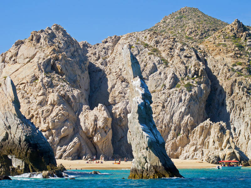 beaches in cabo san lucas - lovers beach