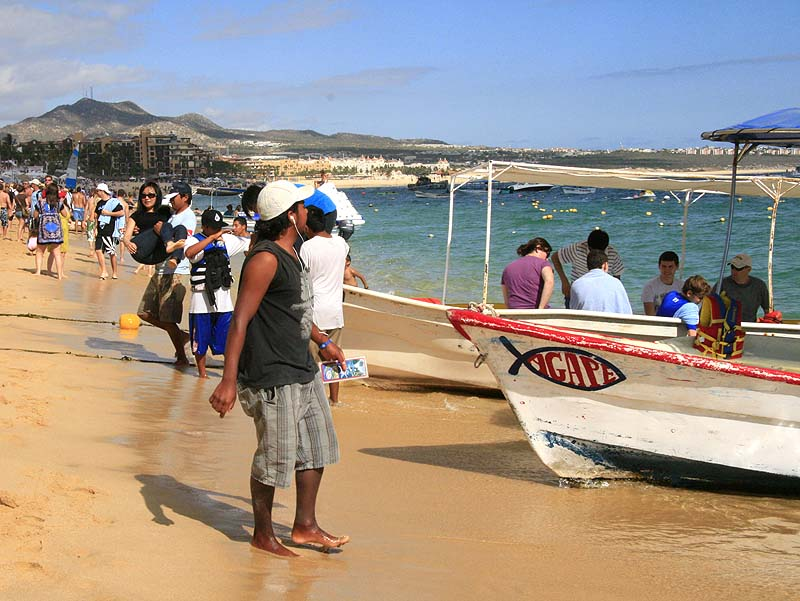 beaches in cabo san lucas - medano beach