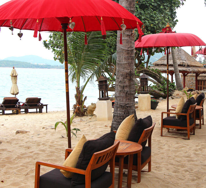 Beach at Zazen Boutique Resort & Spa, Koh Samui