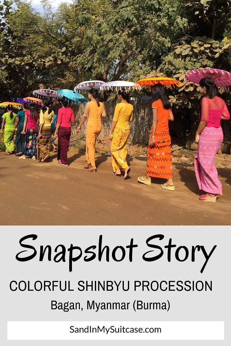 Myanmar festival Shinbyu