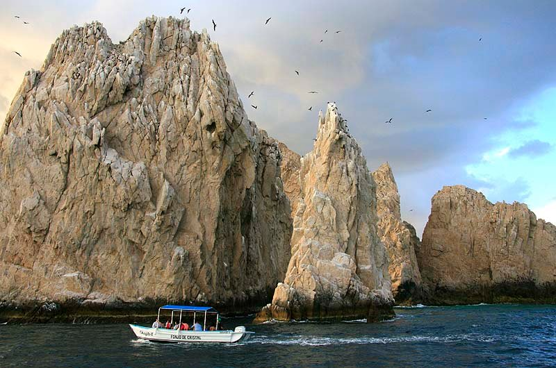 Take a Cabo water taxi to see Land's End