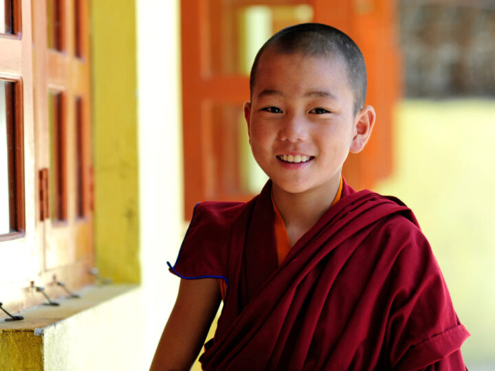Shinbyu for Young Boy Monks