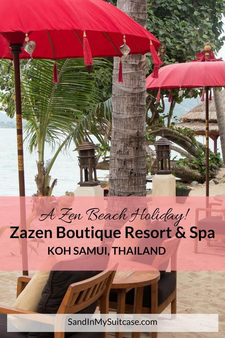 Zazen Boutique Resort & Spa on Koh Samui