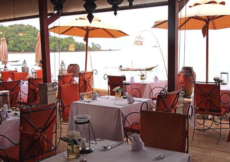 Zazen Boutique Resort restaurant