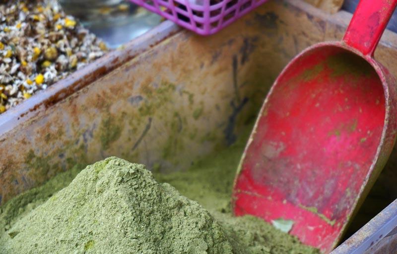 Tetouan medina henna powder