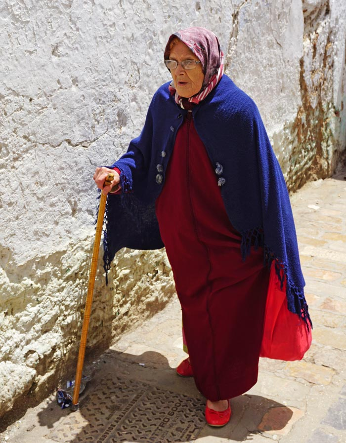 Morocco old woman