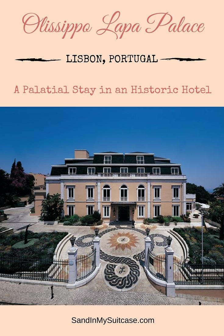 Hotel Lapa Palace Lisbon