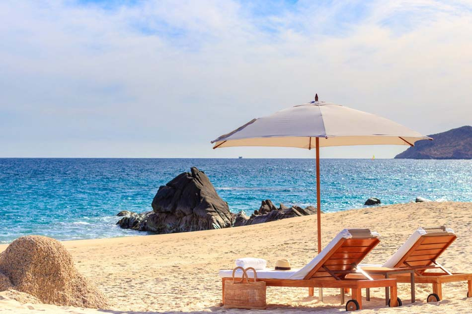 Grand Velas Los Cabos reviews - beach