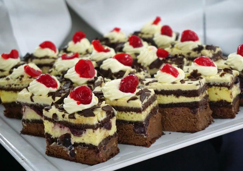 Chocolate dessert on Seabourn Odyssey