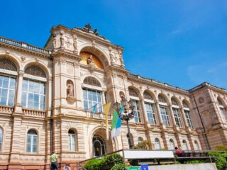 The Friedrichsbad Spa is one of the most beautiful places in Baden-Baden.