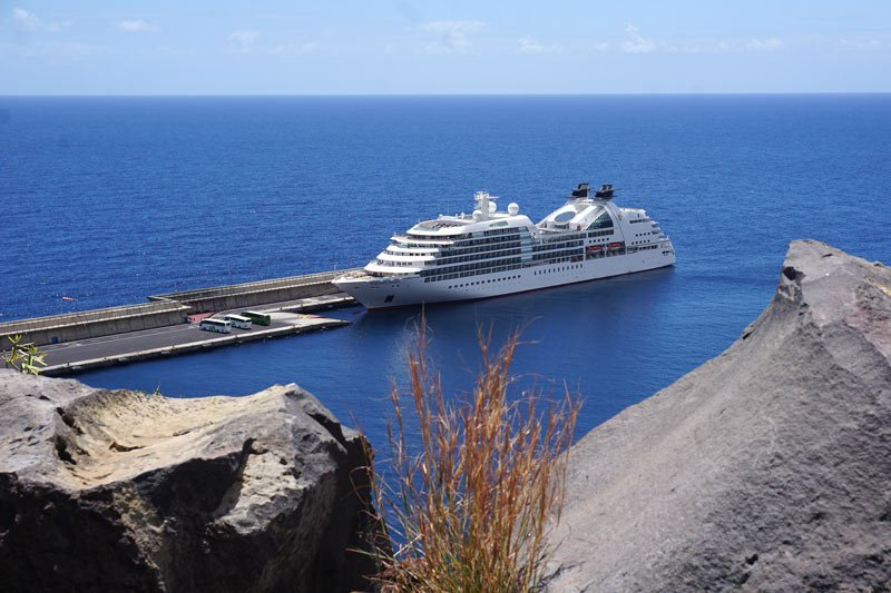 Seabourn Odyssey is one of the Seabourn ships