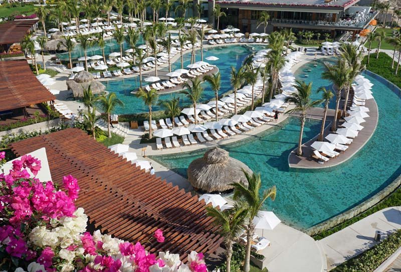 Grand Velas Los Cabos pools